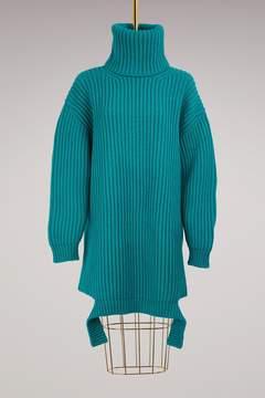 Balenciaga Oversized turtleneck sweater