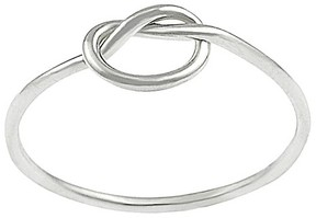 Journee Collection Tressa Collection Sterling Silver Children's Knot Ring
