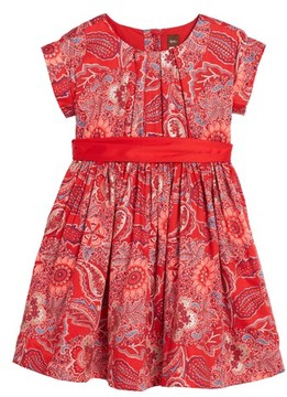 Tea Collection Girl's Adaira Sash Dress