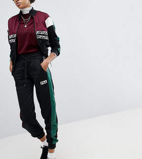 Fila Tracksuit Bottoms With Contrast Side And Logo Taping