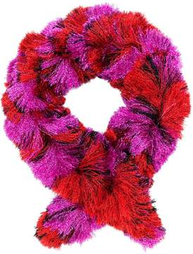 Missoni metallic fringed scarf