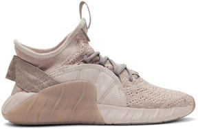 adidas Beige Tubular Rise Sneakers