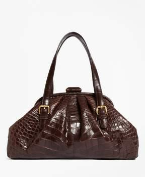 Brooks Brothers Alligator Soft Frame Bag
