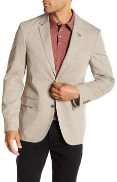 7 Diamonds Garibaldi Khaki Linen Blend Blazer