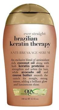 OGX Ever Straight Brazilian Keratin Therapy Anti-Breakage Serum - 3.3oz