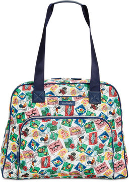 Vera Bradley Lighten Up Go Anywhere Carry-On - CUBAN STAMPS - STYLE