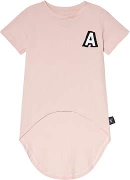Nununu Powder Pink Rounded T-Shirt