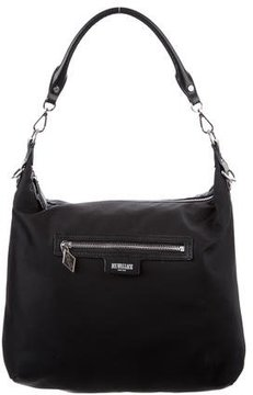 MZ Wallace Leather-Trimmed Nylon Bag