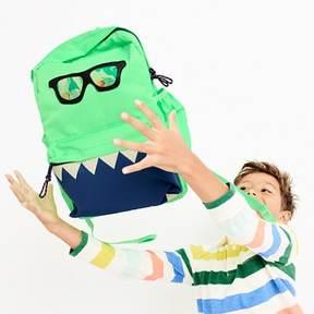 J.Crew Kids' glow-in-the-dark snaggletooth monster backpack