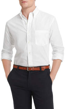 Izod Premium Essentials Long Sleeve Solid Button Down Shirt