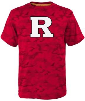 NCAA Boys 4-7 Rutgers Scarlet Knights Vector Dri-Tek Tee