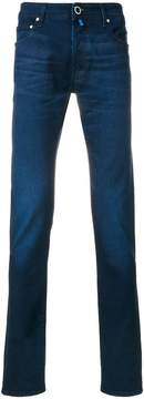Jacob Cohen stonewashed slim-fit jeans