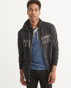 Abercrombie & Fitch Legacy Logo Zip-Up Hoodie