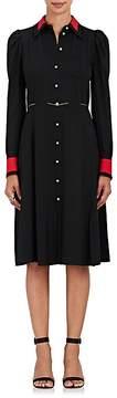 Altuzarra Women's Filippa Silk-Blend Belted Shirtdress