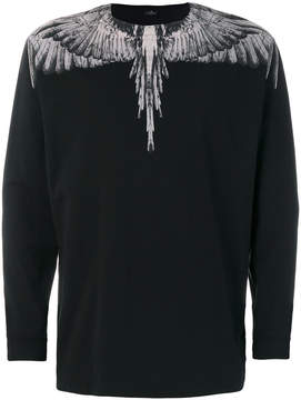 Marcelo Burlon County of Milan feather print sweatshirt