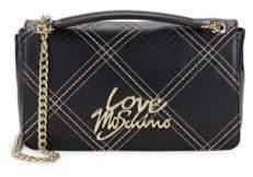 Love Moschino Logo Chain Crossbody Bag