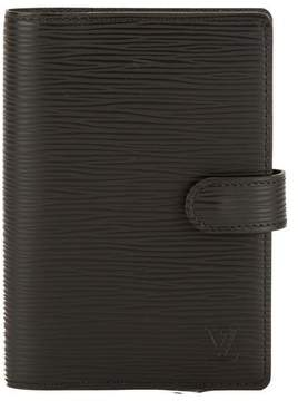 Louis Vuitton Noir Epi Leather Agenda PM Cover - BLACK - STYLE