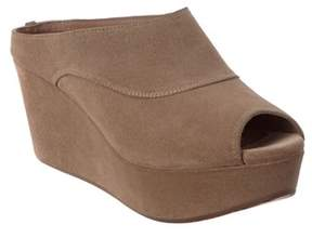 Chocolat Blu Wind Suede Wedge.