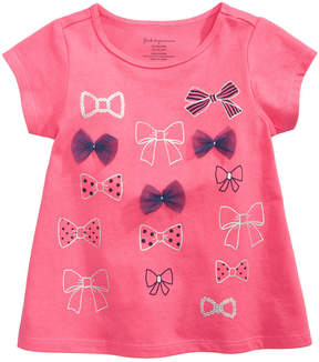 First Impressions Bow-Print T-Shirt, Baby Girls (0-24 months), Created for Macy's