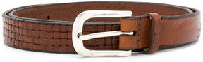 Orciani woven detail belt