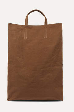 Acne Studios Baker Canvas Tote - Dark brown