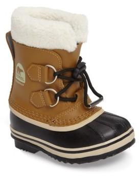 Sorel Toddler 'Yoot Pac' Waterproof Snow Boot