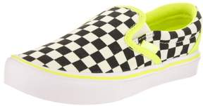 Vans Kids Classic Slip-On (Freshness) Classic White Skate Shoe 11.5 Kids US