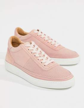 Paul Smith Dizon Suede Sneakers In Dusty Pink