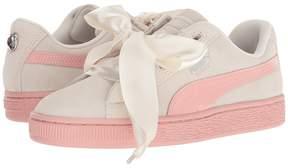 Puma Kids Suede Heart Jewel Girls Shoes