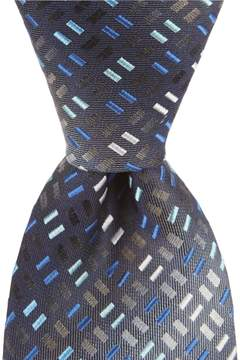 Murano Big & Tall Rectangle Two Traditional Silk Tie