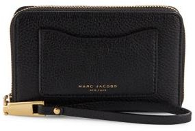 Marc Jacobs Zip Phone Wristlet - MINK - STYLE