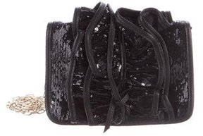 Red Valentino Sequined Crossbody Bag