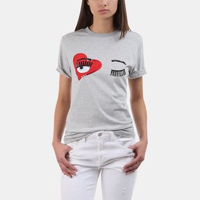Chiara Ferragni Flirting Heart T-Shirt
