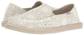 Sanuk Donna Crochet Women's Slip on Shoes