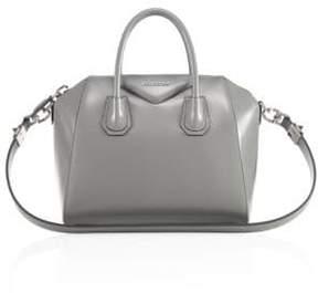 Givenchy Antigona Small Glazed Leather Satchel