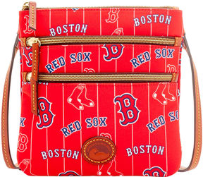 MLB Red Sox Triple Zip Crossbody