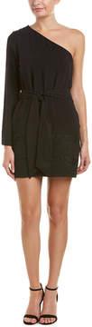 DREW One-Shoulder Shift Dress