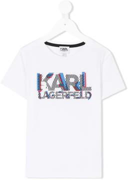 Karl Lagerfeld logo printed T-shirt