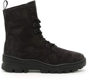 Yeezy Suede Combat Boots