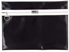 Mm6 Maison Margiela striped clutch