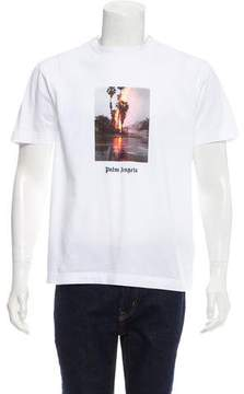 Palm Angels Fire Graphic T-Shirt