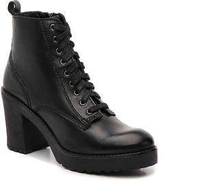 Steve Madden Mackelle Platform Combat Boot - Women's