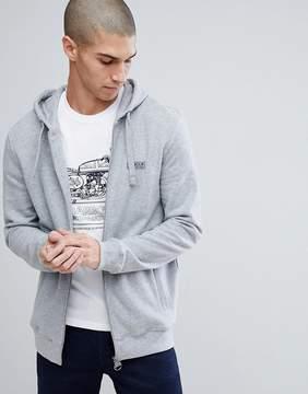 Barbour International Essential Hoody in Gray