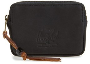 Herschel Men's Oxford Zip Pouch - Black