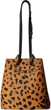 Charlotte Olympia Feline Bucket Bag Handbags