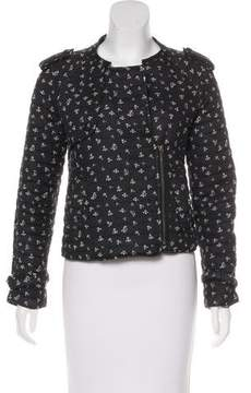 Band Of Outsiders Asymmetrical Lightweight Jacket
