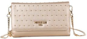 Women's Nicole Lee Adair Pin-Dot Studded Clutch Wallet
