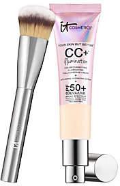 It Cosmetics Full Coverage SPF 50 CC Cream Illumination w/ Plush Brush