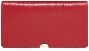 Neiman Marcus Saffiano Leather Bi-Fold Wallet