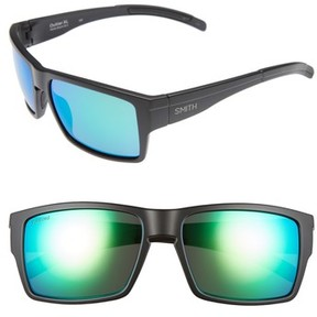 Smith Men's 'Outlier Xl' 56Mm Polarized Sunglasses - Matte Black